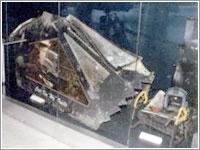 Cabina del F-117A derribado en Yugoslavia