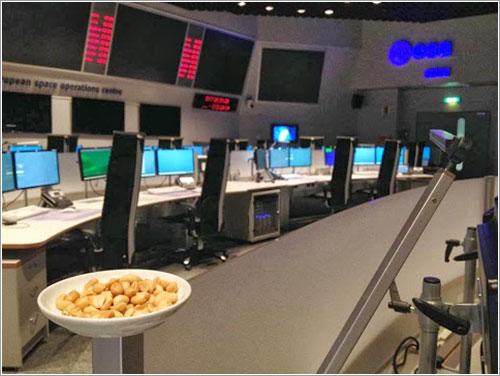 Cacahuetes del JPL en el ESOC