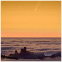 Comet McNaught over Catalunia © Juan Carlos Casado