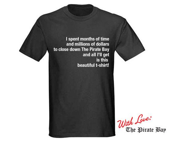 Camiseta The Pirate Bay