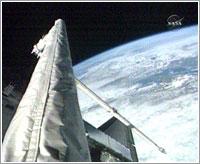 Canadarm y OBSS / NASA