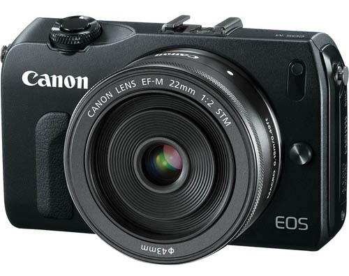 Canon EOS-M en negro