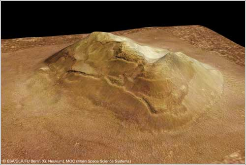 Cara en Cydonia © ESA/DLR/FU Berlin (G. Nekum), MOC (Malin Space Science Systems)