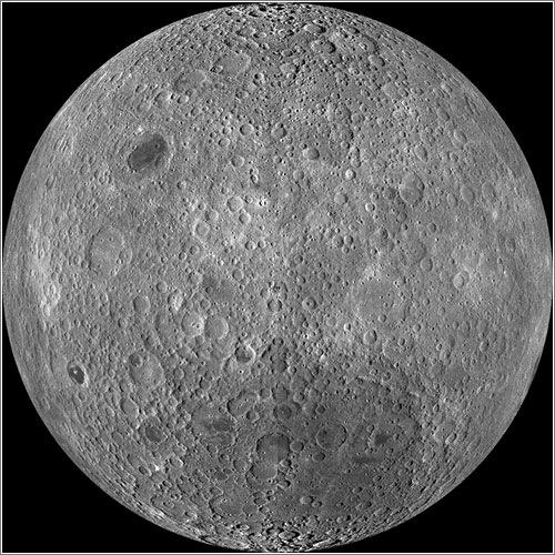 La cara oculta de la Luna por la LRO - NASA / GSFC / Arizona State Univ. / Lunar Reconnaissance Orbiter