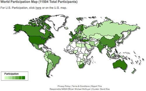 Mapa de participación