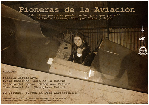 Pioneras de la Aviación