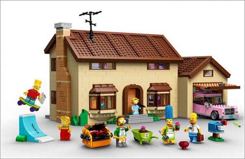 Chez Simpsons en Lego