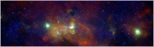 Centro de la galaxia - NASA/CXC/UMass/D. Wang et al.