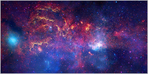 Centro de la Vía Láctea - NASA, ESA, SSC, CXC, y STScI
