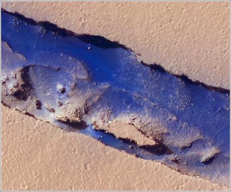 Cerberus Fossae en Marte