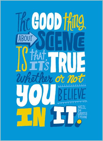 La ciencia es verdad…