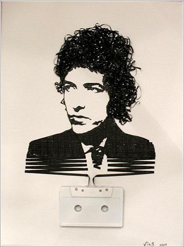 Ghost in the Machine: Bob Dylan por iri5