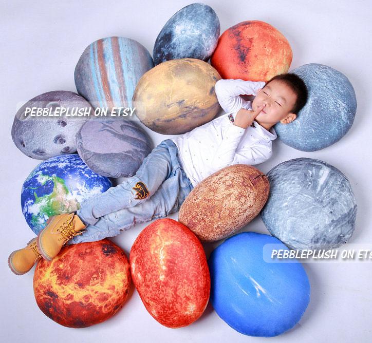 El sistema solar en cojines