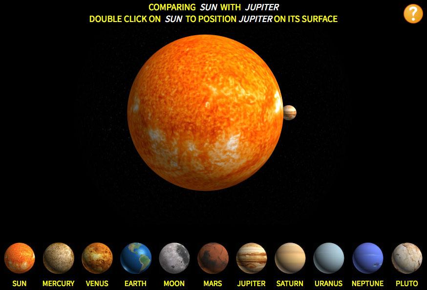 El Sol y Júpiter