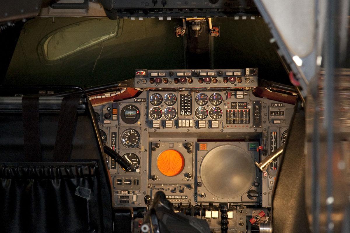 Cabina del prototipo F-WTSS