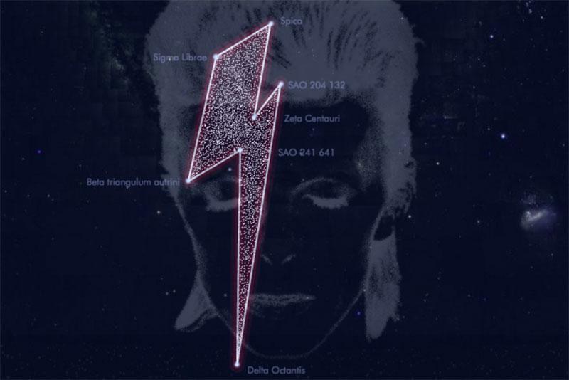 ¿Constelación Bowie? Va a ser que no