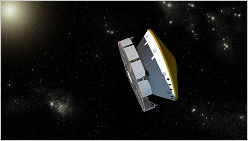 Curiosity en su fase de crucero - NASA/JPL-Caltech