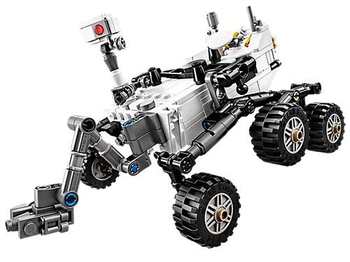 Curiosity en Lego, producto final