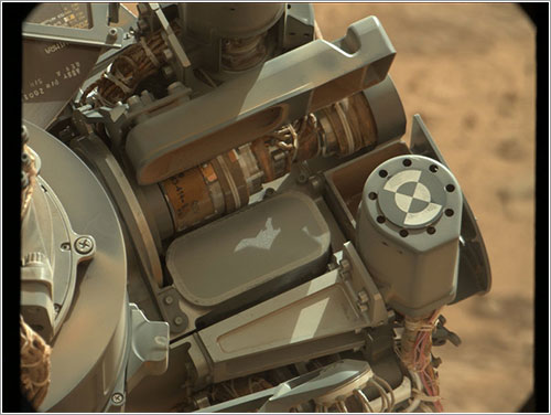 El tamiz de Curiosity - NASA/JPL-Caltech/MSSS