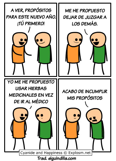 Cyanide & Happiness y la homeopatia
