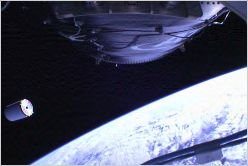 El simulador de carga de la Cygnus