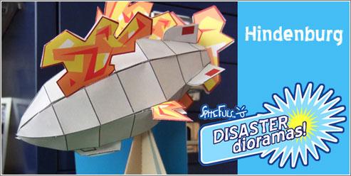 Diorama: el Hindenburg