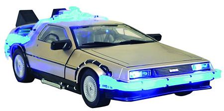 Un DeLorean a escala
