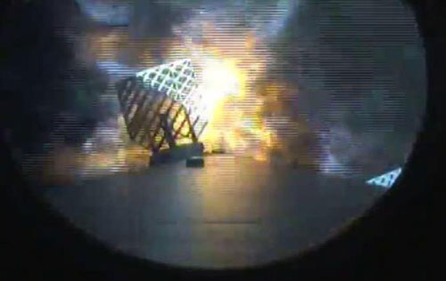 Amerizaje del Falcon 9