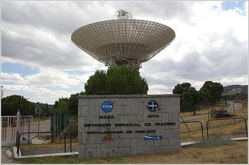Antena de 70 metros de la DSN en Madrid