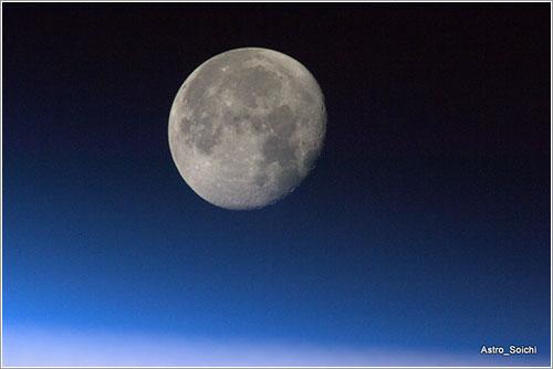 Decimoséptima puesta de Luna por Astro Soichi