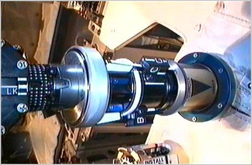 Dextre trabajando - NASA