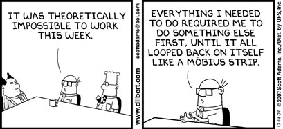 Dilbert 14-12-2007 © Scott Adams
