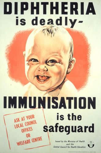 La difteria es mortal… La vacunación es el remedio