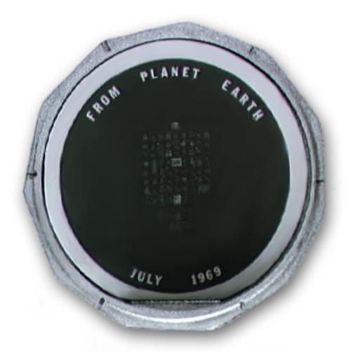 Disco con mensajes de buena voluntad - NASA
