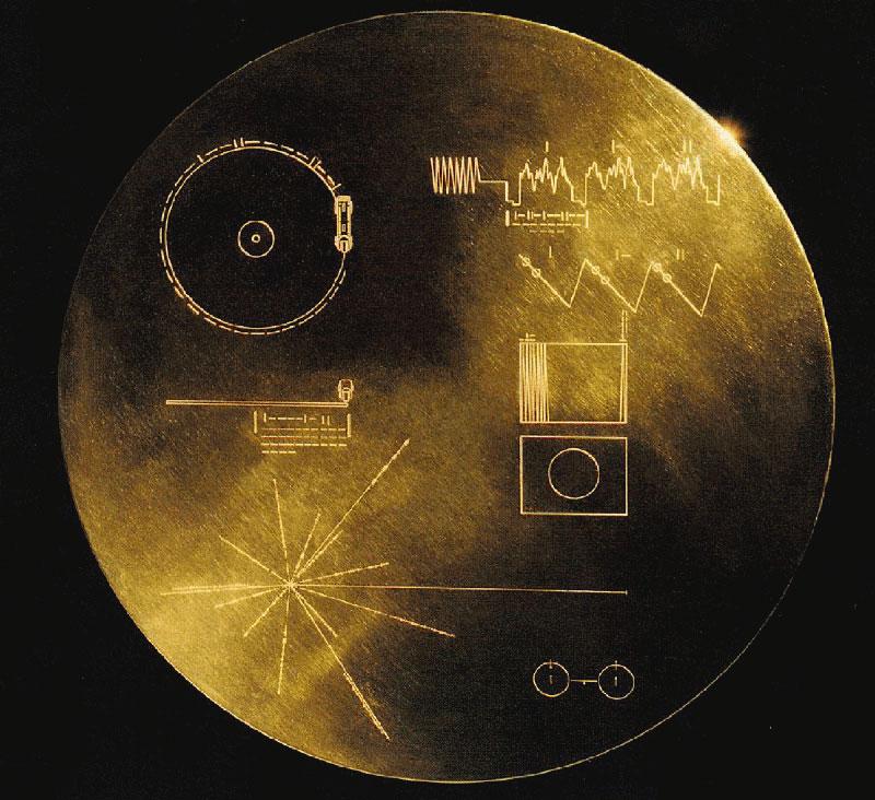 Disco dorado de las Voyager