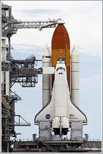 Discovery en la plataforma de lanzamiento