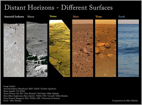 Distant Horizons - Different Surfaces por Mike Malaska