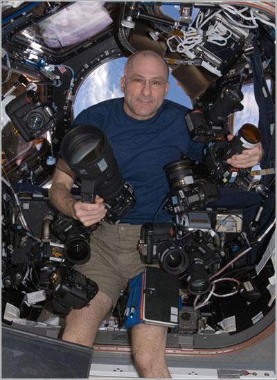 Don Pettit y las cámaras de la ISS - NASA