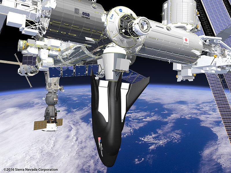 Dream Chaser Cargo System en la EEI
