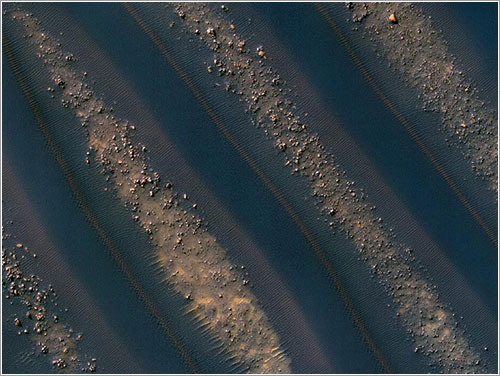 Dunes of Mars - NASA/JPL-Caltech/University of Arizona