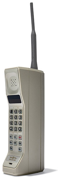 Motorola Dynatac 8000X, un teléfono que hizo historia