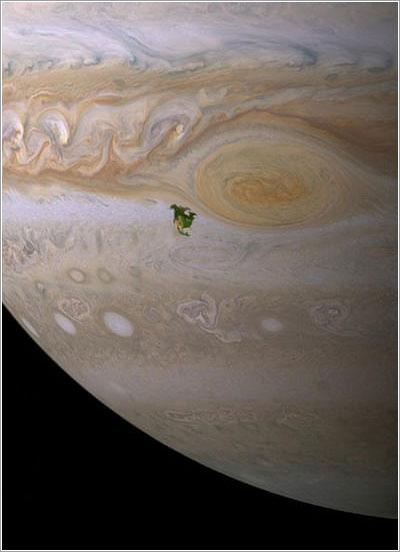 EEUU, Canadá y México en Júpiter
