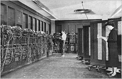 ENIAC, circa 1950. Foto: US Army