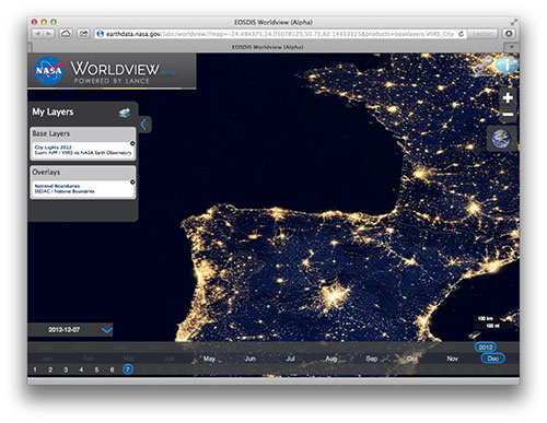 EOSDIS Worldview