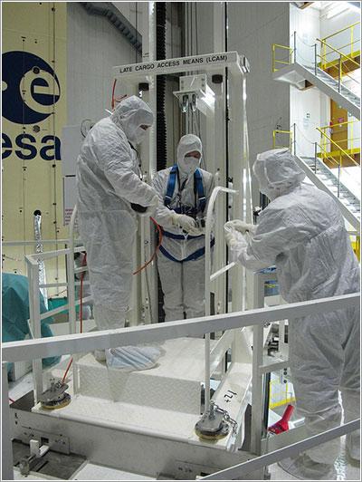 El elevador - ESA/K. MacDonell