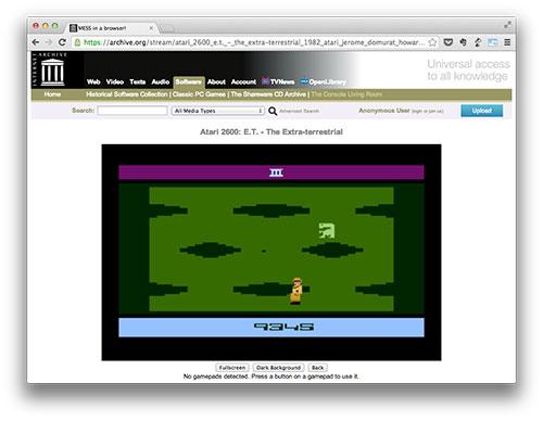 ET para Atari 2600, probablemente el peor juego de la historia