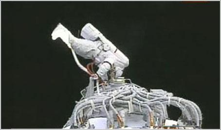 Primer paseo espacial chino - Xinhua Photo