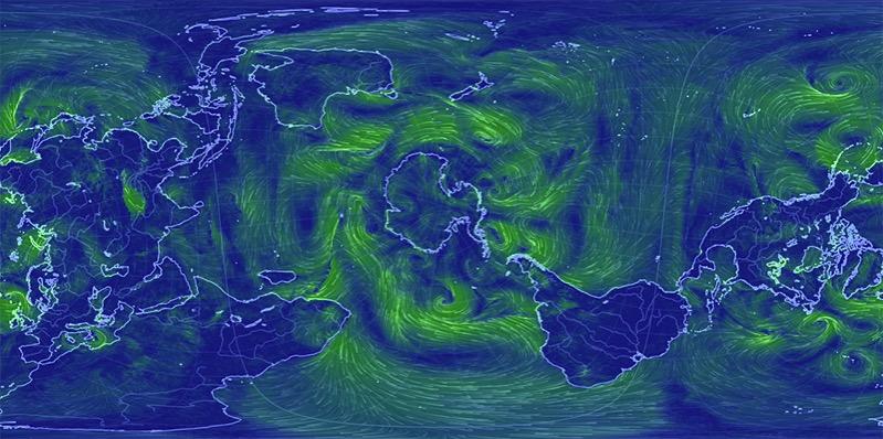 EarthWindMap 2