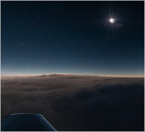 Algunas imágenes del eclipse híbrido de Sol de noviembre de 2013