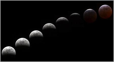 Eclipse del 3 de marzo de 2007 © Mauro A. Fuentes